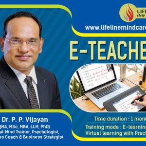 E teacher training program by Dr.pp vijayan
