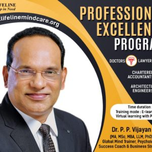 professional excellence training by dr.pp vijayan